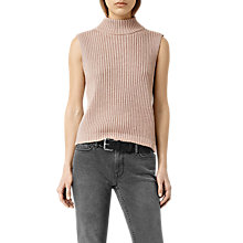 Buy AllSaints Helm Knitted Tank Top Online at johnlewis.com