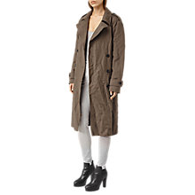 Buy AllSaints Everly Mac, Khaki Green Online at johnlewis.com