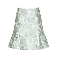 Buy Reiss Tulip Jacquard Skirt, Mint Online at johnlewis.com