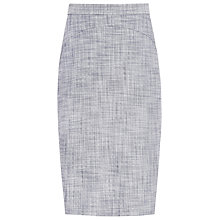 Buy Reiss Remi Tailored Skirt, Grey/Blue Online at johnlewis.com