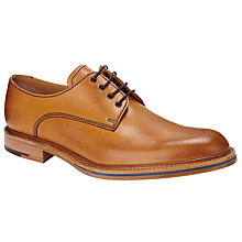 Buy JOHN LEWIS & Co. Made in England Rufus Derby Shoes, Tan Online at johnlewis.com