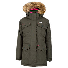 Buy Trespass Girls' Waterproof Jacket, Green Online at johnlewis.com