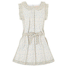 Buy Jigsaw Girls' Spot Print Dress, Multi White Online at johnlewis.com