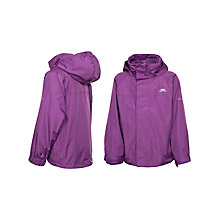 Buy Trespass Girls' Skydive 3-in-1 Waterproof Jacket, Purple Online at johnlewis.com