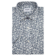 Buy Duchamp Poppy Print Linen Short Sleeve Shirt Online at johnlewis.com
