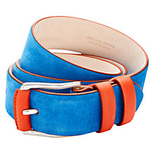 Buy Duchamp Contrast Suede Belt Online at johnlewis.com
