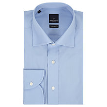 Buy Daniel Hechter Poplin Tailored Fit Shirt, Light Blue Online at johnlewis.com