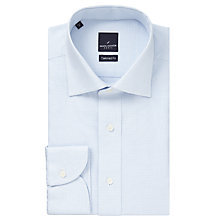 Buy Daniel Hechter Geo Textured Shirt, White/Navy Online at johnlewis.com