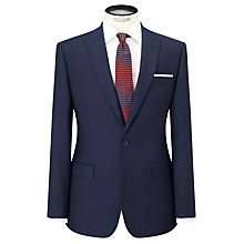 Buy Daniel Hechter Pindot Peak Lapel Tailored Suit Jacket, Navy Online at johnlewis.com