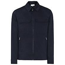 Buy Reiss Casablanca Cotton Pocket Jacket, Navy Online at johnlewis.com