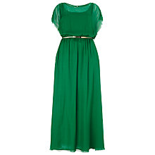 Buy Studio 8 Neptune Silk Maxi Dress, Green Online at johnlewis.com