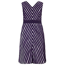 Buy Studio 8 Brooklyn Dress, Purple Online at johnlewis.com