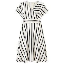 Buy Studio 8 Verona Stripe Dress, Navy/White Online at johnlewis.com