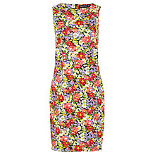 Buy Sugarhill Boutique Libby Floral Garden Dress, Black/Multi Online at johnlewis.com
