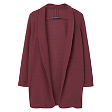 Buy Violeta by Mango Textured Cotton-Blend Jacket Online at johnlewis.com