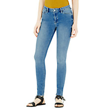Buy Warehouse Powerhold Skinny Jeans, Light Wash Online at johnlewis.com