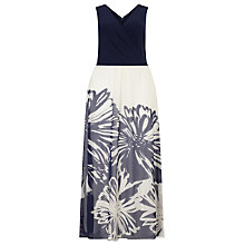 Buy Studio 8 Venus Maxi Dress, Navy/Ivory Online at johnlewis.com