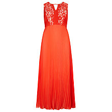 Buy Studio 8 Pomona Maxi Dress, Orange Online at johnlewis.com