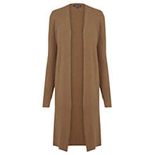 Buy Warehouse Slim Rib Split Side Cardigan Online at johnlewis.com