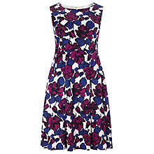 Buy Studio 8 Dina Print Dress, Blue/Purple Online at johnlewis.com