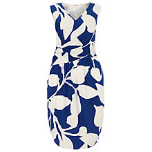 Buy Studio 8 Geneva Printe Jersey Dress, Blue/Ivory Online at johnlewis.com