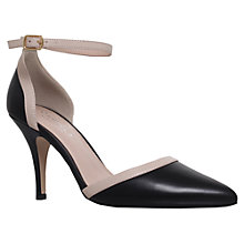 Buy Carvela Komo Two Part Court Shoes, Black Online at johnlewis.com
