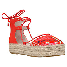 Buy Carvela Kant Flatform Two Part Espadrilles Online at johnlewis.com