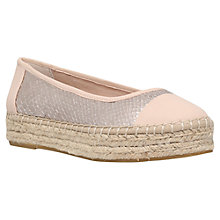 Buy Carvela Lionel Flatform Espadrille Pumps Online at johnlewis.com
