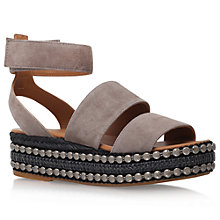 Buy Kurt Geiger Palma Flatform Sandals Online at johnlewis.com