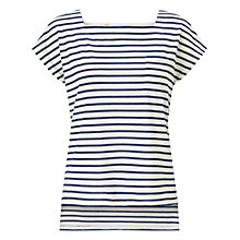 Buy Collection WEEKEND by John Lewis Square Neck Stripe Top Online at johnlewis.com