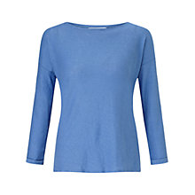 Buy John Lewis Linen Drop Shoulder Top Online at johnlewis.com