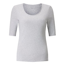 Buy John Lewis Half Sleeve Scoop Neck T-Shirt Online at johnlewis.com