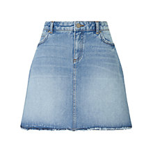 Buy Collection WEEKEND by John Lewis Serenity Denim Skirt, Mid Wash Indigo Online at johnlewis.com