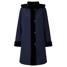 Buy John Lewis Faux Fur Lined Hooded Mac Online at johnlewis.com