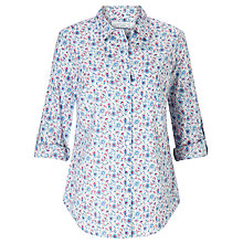 Buy John Lewis Sweet William Print Shirt, Multi Online at johnlewis.com