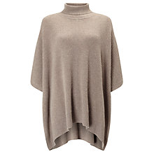 Buy John Lewis Roll Neck Cashmere Poncho Online at johnlewis.com
