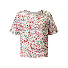Buy Collection WEEKEND by John Lewis Andie Boho Floral Print Shell Top, Multi Online at johnlewis.com