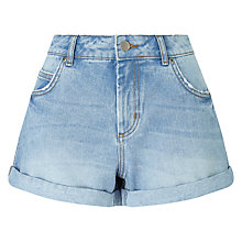 Buy Collection WEEKEND by John Lewis Caitlyn Denim Shorts, Mid Wash Indigo Online at johnlewis.com