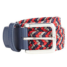 Buy John Lewis Boys' Stretch Woven Belt, Multi Online at johnlewis.com