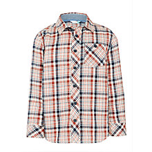 Buy John Lewis Boys' Multi Colour Check Shirt, Multi Online at johnlewis.com