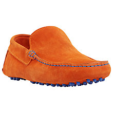 Buy Dune Bermuda Suede Slip-On Loafers Online at johnlewis.com