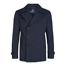 Buy Aquascutum Corsham Double Breasted Jacket, Navy Online at johnlewis.com