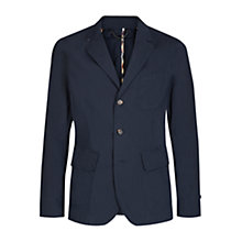Buy Aquascutum Barnes Cotton Blazer, Navy Online at johnlewis.com