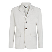 Buy Aquascutum Barnes Cotton Blazer, Light Beige Online at johnlewis.com