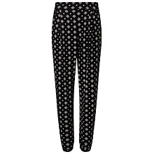 Buy Miss Selfridge Aztec Tile Print Joggers, Multi Online at johnlewis.com