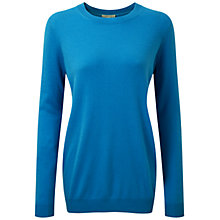 Buy Pure Collection Faith Cashmere Boyfriend Sweater, Marine Blue Online at johnlewis.com