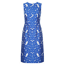 Buy Hobbs Henriette Dress, Bluebell Ivory Online at johnlewis.com