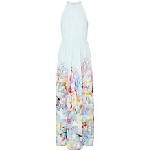 Buy Ted Baker Hanging Gardens Maxi Dress, Mint Online at johnlewis.com
