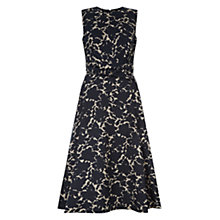 Buy Hobbs Twitchill Dress, Navy Online at johnlewis.com