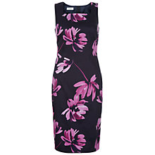 Buy Hobbs Multi Macey Dress, Navy/Multi Online at johnlewis.com